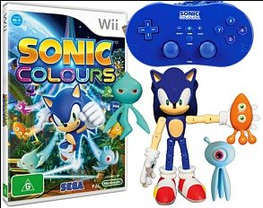 SONIC COLOURS SPECIAL EDITION